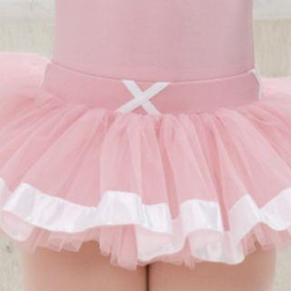 寶琦華緞帶紗裙(不含舞衣)
