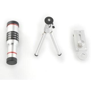 送三角支架  手機望遠鏡頭 18倍高清鏡頭手機望遠鏡  單筒攝影18x光學變焦 手機望遠鏡頭 手機通用望遠鏡1244