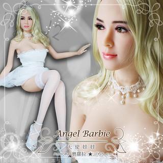 天使娃娃 真人矽膠娃娃 1:1非充氣 帶骨骼真人版 陰交+肛交+口交 (外國臉龐) Aurora奧蘿拉 165cm