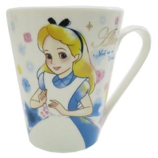 18050400005 馬克杯-愛麗絲花霧微笑 迪士尼 愛麗絲夢遊仙境 愛麗絲 馬克杯 水杯 瓷製 食器
