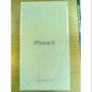 Iphone X 256g全新未拆封