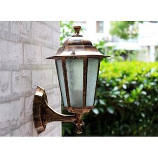 ㊕戶外壁燈 防水 庭院燈 路燈 歐式別墅 掛壁燈 圍牆燈附贈LED燈泡(220V3W)A0232-2