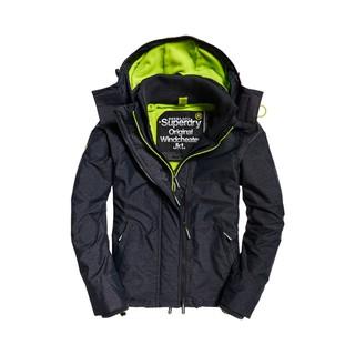 今年 正品 極度乾燥黑藍灰綠連帽防風衣Superdry 抓絨三拉鍊夾克刷毛外套風衣