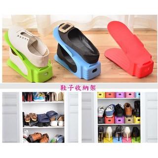 bling多色可選 一體成型鞋架-隨機出貨超取最多30個 簡易鞋子收納架 加厚一體式雙層鞋架 鞋櫃收納  鞋架