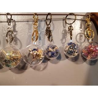 乾燥花吊飾/鑰匙圈