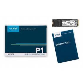 美光 Micron Crucial P1 500GB/1TB M.2 2280 PCIe SSD固態硬碟/(五年保)