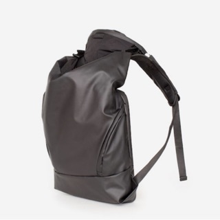 【Cote&Ciel】新年跨年禮物OBSIDIAN BLACK 防水布後背包 二手