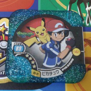 Pokemon tretta第6彈4星小智皮卡丘