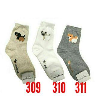 韓國襪子 柴犬
