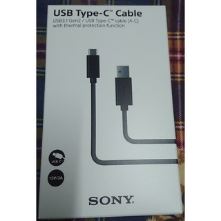 SONY原廠 USB Type-C Cable UCB30(全新未拆)