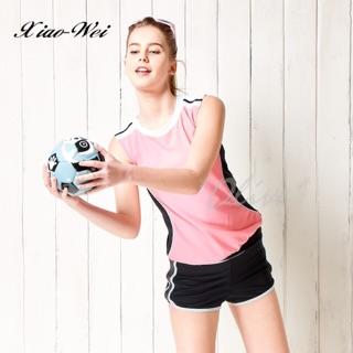 【潘它貝拉品牌】時尚流行運動風二件式泳裝 M號