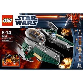 樂高 LEGO 9494 STAR WARS ANAKIN'S JEDI INTERCEPTOR 載具