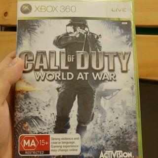 Xbox360 決勝時刻 戰爭世界 world at war