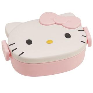 凱蒂貓 Hello kitty 可愛立體便當盒 小朋友 野餐 外出 愛妻便當