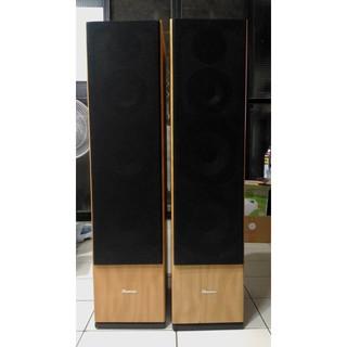 Pierce 落地喇叭一對 3音路4單體 7吋X2低音 有分音器