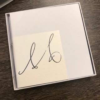 JJ林俊傑親筆簽名專輯