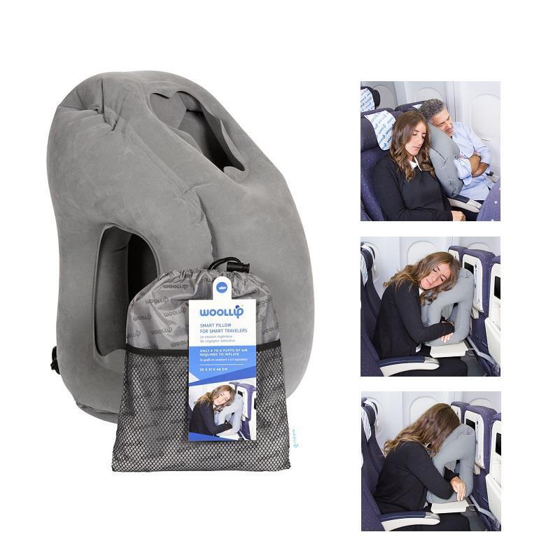[長榮機上免稅品現貨]WOOLLIP 旅行充氣枕