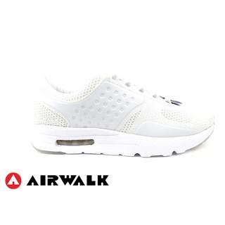 【美國 AIRWALK_記憶鞋墊】復古潮流運動鞋(白_女)