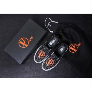 VANS X VLONE X Fragment Design三方聯名Slip On板鞋尺碼:35-44