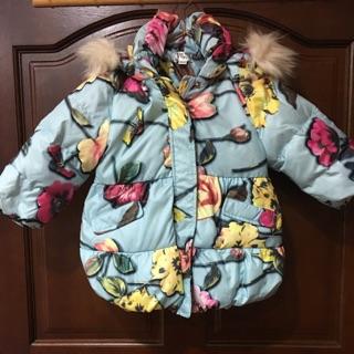 寶寶長版羽絨外套