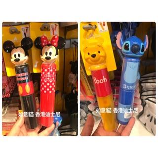 香港迪士尼 米奇米妮 小熊維尼 史迪奇 筷子 叉子 湯匙 餐具組 (如意貓)