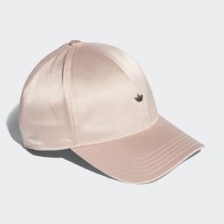 ADIDAS ORIGINALS D-ADI CAP 老帽 粉紅 緞面 三葉草 小LOGO CE5705