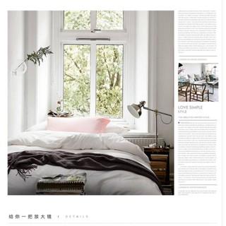 【免運送抱枕】埃及長絨棉緞\純白\ 純棉雙人床包 床套 床包四件組