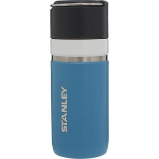 【【蘋果戶外】】STANLEY 10-03107 天藍 GO系列 陶瓷烤漆真空保溫瓶 0.47L 提環隨行咖啡杯保溫水瓶