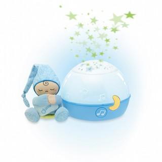 Chicco 9.5成新 免運費 Chicco晚安星星投射燈 藍色