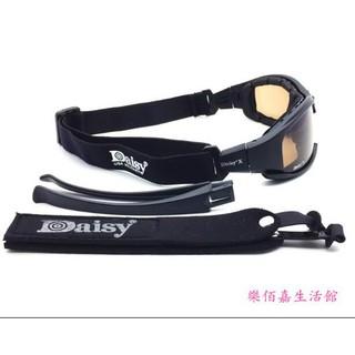 日系風。時尚♥美國Daisy x7護目鏡戰術護目墨鏡射擊夜視風鏡