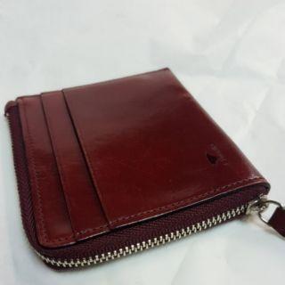 義大利 il bussetto 佛羅倫斯 極簡精細手工皮件 皮質錢包零錢包卡包