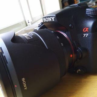 SONY SLT A77 單眼相機 加 DT 1650 SSM 2.8F 鏡頭