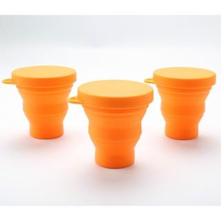 矽膠可折疊杯旅行可擕式迷你伸縮水杯漱口杯壓縮杯子戶外運動水杯