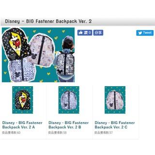 日本景品Disney迪士尼  米老鼠後背包