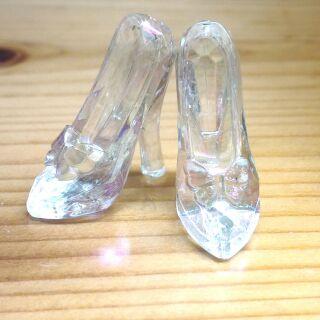 迪士尼 仙履奇緣 灰姑娘 仙度瑞拉 玻璃鞋 擺飾