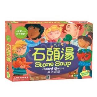 桌遊 正版 - 石頭湯 Stone Soup 繁體中文版【Fly Me♥妃米小舖】