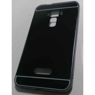 100郵寄含運 Asus 華碩 zenfone 3 ZE552KL 鏡面 金屬 保護殼 黑色