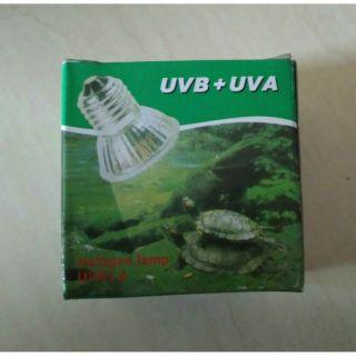 爬蟲烏龜曬背保溫加熱燈UVB+UVA