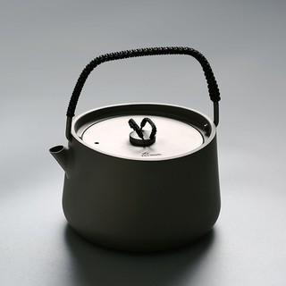 棲鳳居煮茶壺 純鈦茶壺養生壺提梁壺電陶爐專用壺 功夫茶具零配件