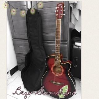 白果 二手 吉他 Ultra 木吉他 紅