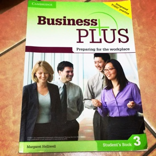Business PLUS student's book 3