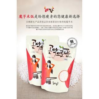 日本韓國合作研發乾式蒟蒻米來自韓國