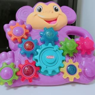 Playskool 齒輪玩具 附贈一顆Oball 沙沙洞球