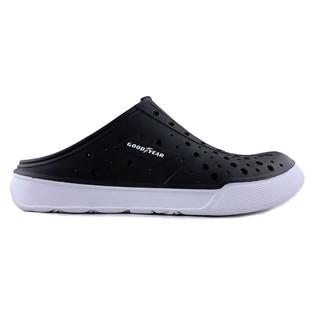 【螃蟹小舖】GOODYEAR 固特異 防水鞋 水鞋 半拖鞋 洞洞鞋 拖鞋 (黑) GAMS73800