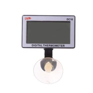 現貨 溫度計 新款數字室內魚缸溫度計高低溫自動報警