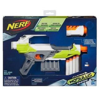 NERF自由模組系列 離子火手槍(海綿彈 菁彈夾 彈匣組 小槍 水彈槍 子彈)