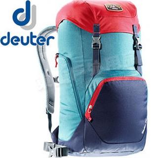 Deuter 3810717_藍/紫 24L休閒旅遊電腦背包Walker 登山健行背包/自助旅行雙肩背包/筆電後背包