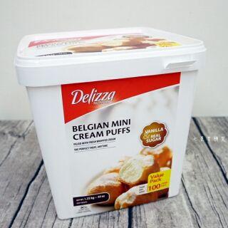 DELIZZA 冷凍迷你泡芙(約100入)好市多代購中~