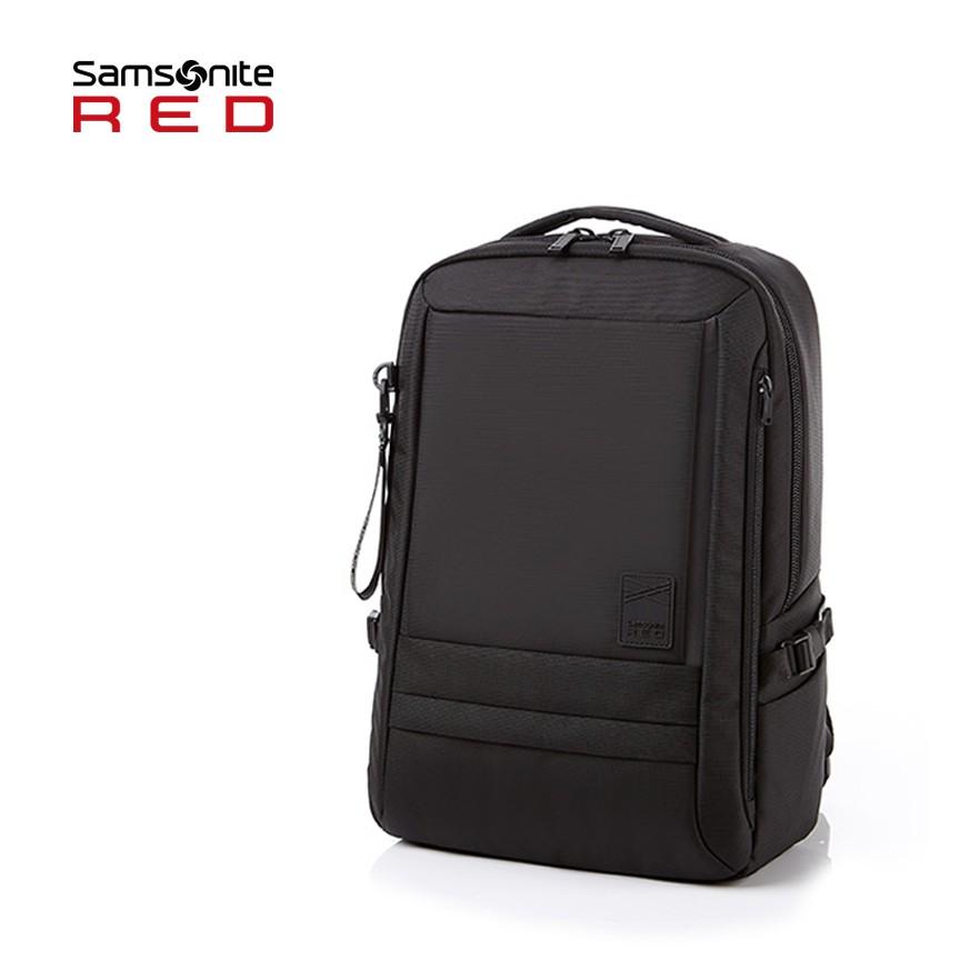 Samsonite RED 新秀麗【PLANTPACK 2 GG5】14吋筆電後背包M 可插掛 抗菌口袋 3M反光條