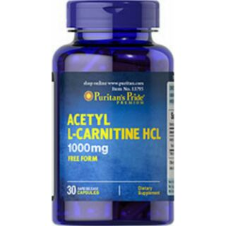 Puritan's Pride, Acetyl L-Carnitine 乙醯左旋肉鹼 1000 mg
